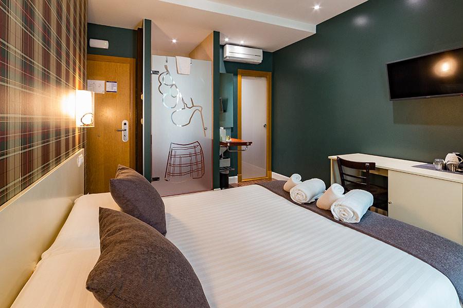 Habitación Glasgow pensión UR-alde San Sebastián