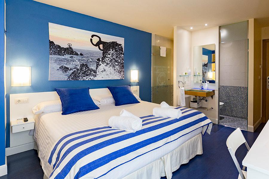 Donostia room UR-alde hotel San Sebastian