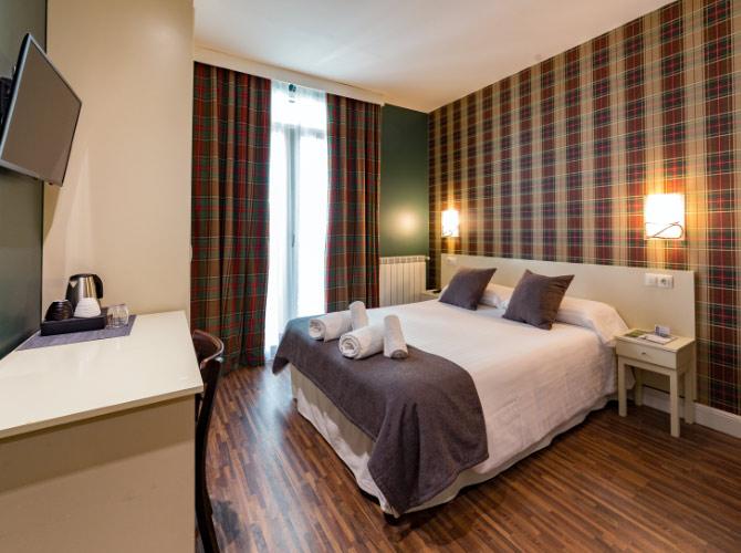 Glasgow chambre UR-alde hôtel Saint-Sébastien
