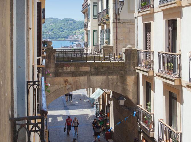 Alojamiento en San Sebastián